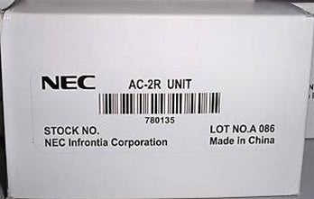 NEC AC-2R UNIT Power Adapter (Part# 780135) NEW