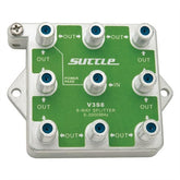 Suttle Vertical 3GHz 8-way RF Splitter