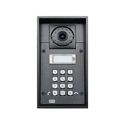 2N Helios IP Force - 1 button + camera, Stock# 2N-9151101CKW