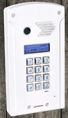 Tador Codephone KX-T918-AVL-LCD Doorphone For Analog PBX Extension Weather Resistance, Anti Vandal, Anodize, Water Proof,  Stock# KX-T918-AVL-LCD ~ NEW