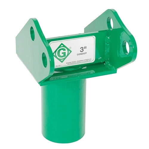 "Greenlee ADAPTER WELDMENT - SLIP IN 3"" ~ Cat #: 00811"