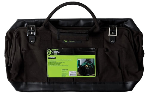 "Greenlee BAG,CANVAS 20"" ~ Cat #: 0158-11"