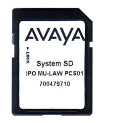 AVAYA IPO IP500 V2 SYSTEM SD CARD MU-LAW, Stock# LUC-700479710
