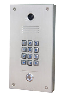 Tador CodePhone KX-T918-AVL Door Phone, For Analog PBX Extension, Weather Resistance, Anti Vandal, Anodize, Made of CNC. Very Durable Water Proof, Stock# KX-T918-AVL ~ NEW