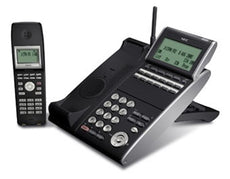 NEC DTL-12BT-1 (BK) - DT330 - Plus BCH - 12 Button Display Digital Cordless Phone Black (Stock# 680008 ) NEW