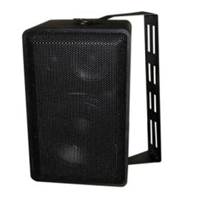 MG Electronics Indoor/Outdoor 3 Way Mini Speaker (Black), Part# SB-200