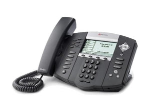 Polycom 2200-12651-025 SoundPoint IP 650 6-Line IP Phone, Stock# 2200-12651-025