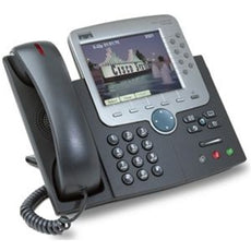 Cisco 7970G - IP Phone Featuring Integrated Communications and Data Delivery  REFURBISHED
