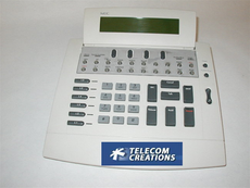 NEC SN716 Desk Console for the Neax 2000 & 2400 PBX Phone systems Factory Refurbished