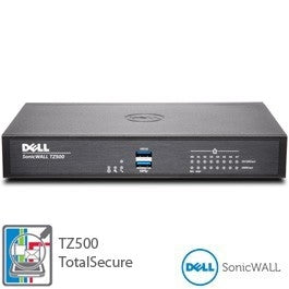DELL SONICWALL TZ500 TOTALSECURE 1YR, Stock# 01-SSC-0445DELL SONICWALL TZ500 TOTALSECURE 1YR, Stock# 01-SSC-0445