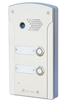 Tador KX-T927-AVL-2PL 2 Button, Push Button Doorphone, For Analog PBX Extension, Weather Resistance, Anti Vandal, Anodize, Water Proof, Stock# KX-T927-AVL-2PL ~ NEW