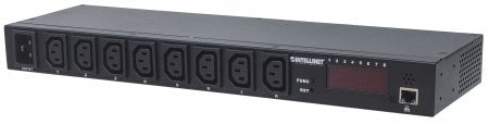 "Intellinet 19"" Rackmount Intelligent Power Distribution Unit (8-Port), Stock# 163682"