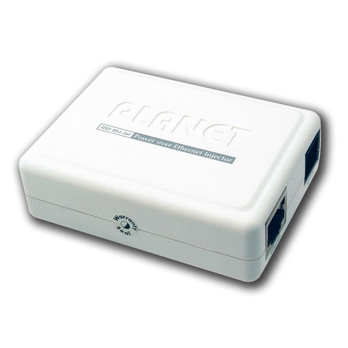 PLANET POE-152 IEEE802.3af PoE  Injector - End-Span for Gigabit Ethernet, Stock# POE-152