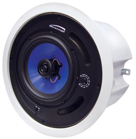 "SPECO SP6MATB 6.5"" 25/70V speaker with Backbox - BLACK, Stock#SP6MATB  NEW"