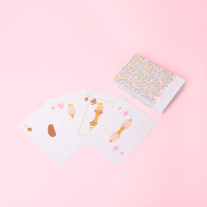 Sprinkle Print Playing Cards