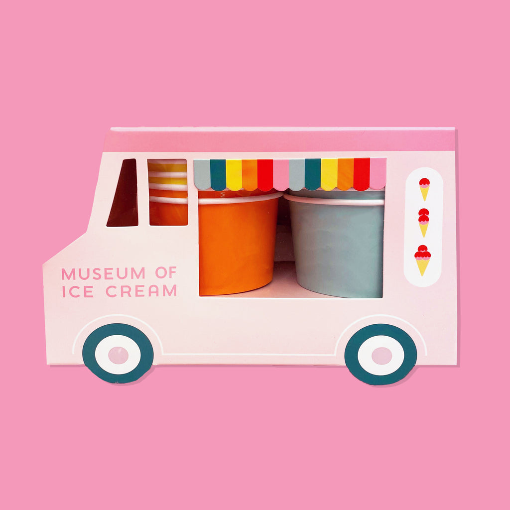 Ice Cream Truck Cup & Spoon Set