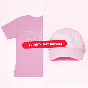 Museum of Ice Cream AIP T-SHIRT + HAT BUNDLE