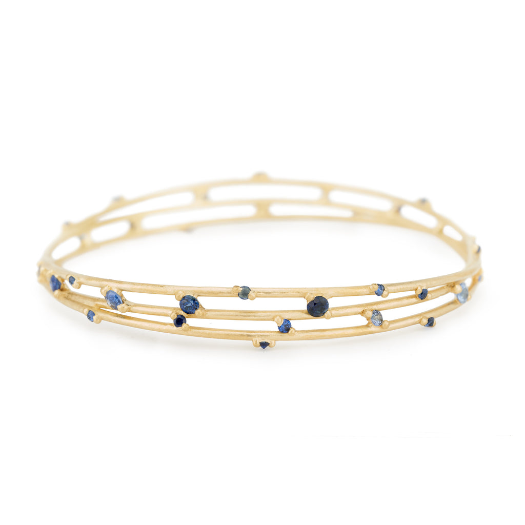 Blue Astral Bangle