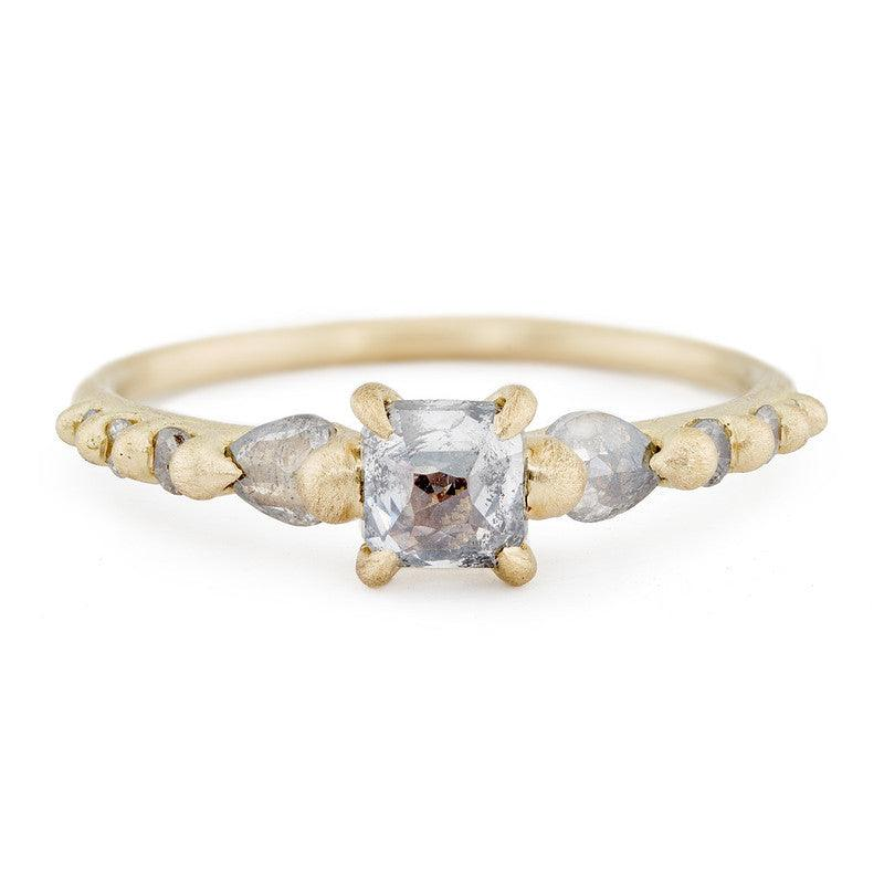 Tagus Diamond Halo Ring