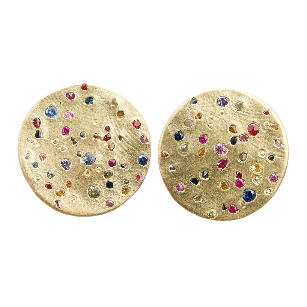 Extra Large Rainbow Constellation Earrings