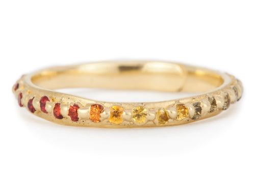The Pinched Eternity Band Narrow 1 - PollyW