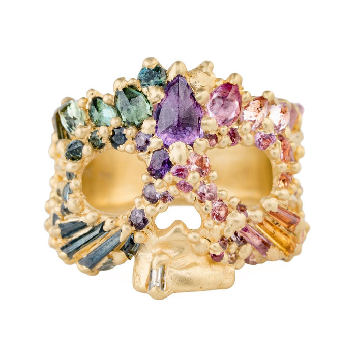 The La Mélinite Skull Ring - PollyW