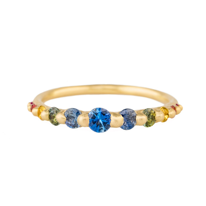 The Rainbow Halo Ring - PollyW