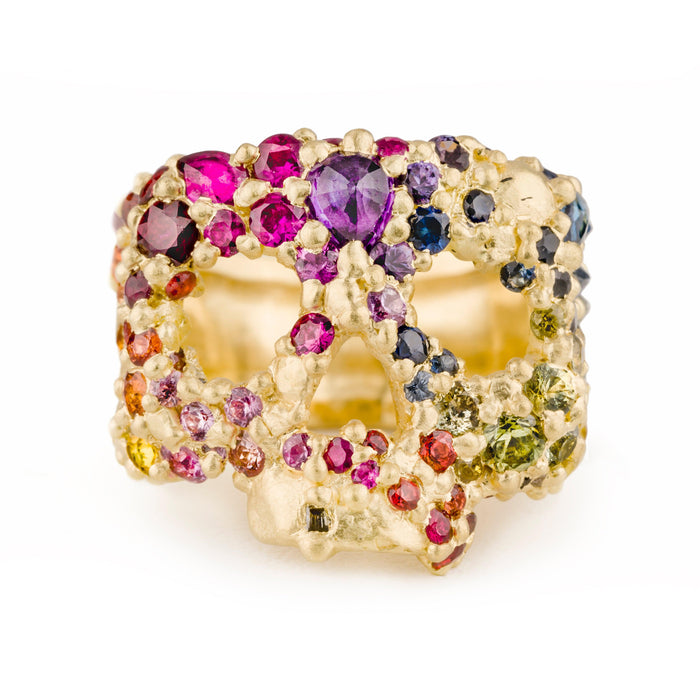Skull Ring in Eternal Spring