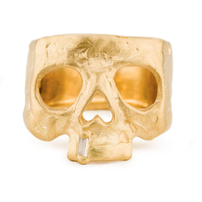 Snaggletooth Skull Ring