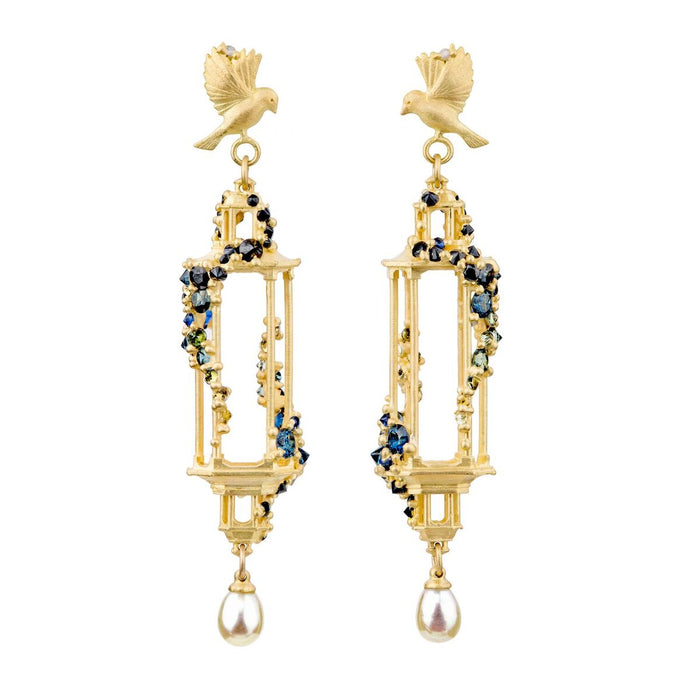 Jade Terrace Pagoda Earrings