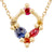 Rainbow  Des Gouttes Necklace