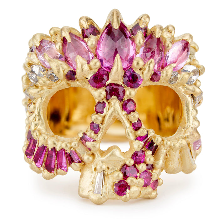 Ziggy Skull Ring