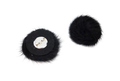Mink Fur Rose Broach - paulamarie
