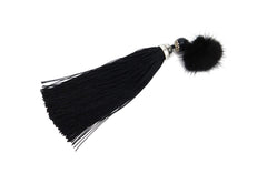 Mink Fur Broach with Tassels - paulamarie