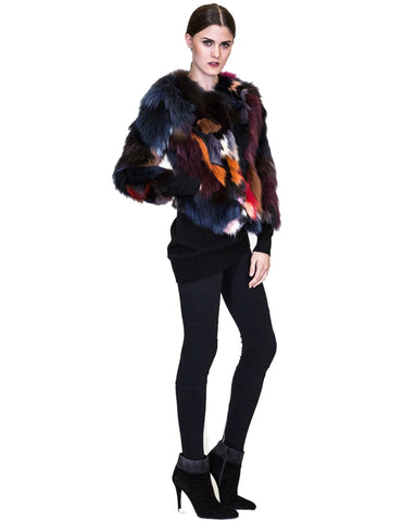 THE MIMI Full Skin Fox Fur Jacket - paulamariecollection