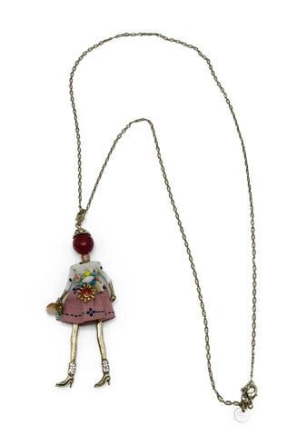Lady Pendant Necklace - paulamariecollection