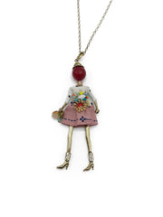 Lady Pendant Necklace - paulamarie