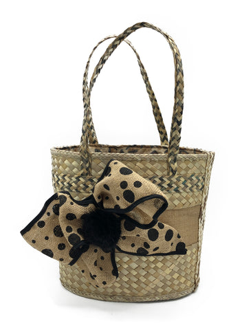 Leopard Print Bow Bag - paulamariecollection
