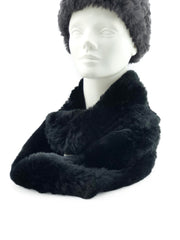Rex Rabbit Fur Infinity Scarf - paulamariecollection