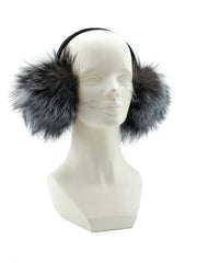 Fox Fur Earmuffs - paulamariecollection