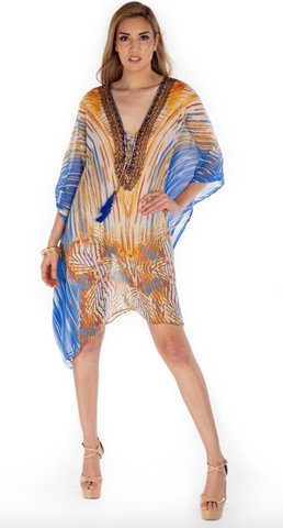 Florentine Cover-Up Kaftan - paulamarie