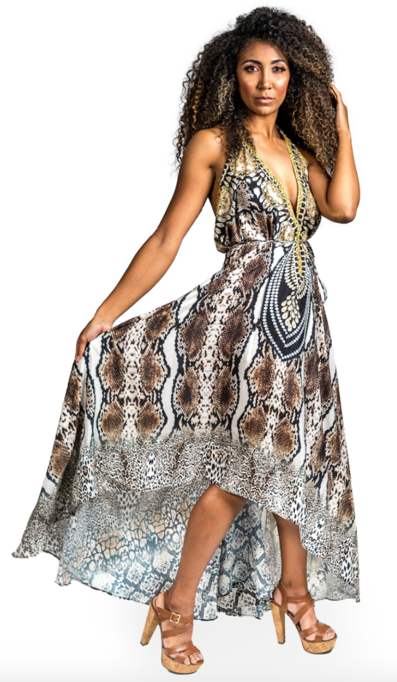 Cobra 3-Way High Low Dress - paulamarie