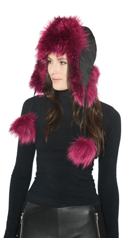 THE STARNBERG Fox Fur Trapper Hat - paulamariecollection