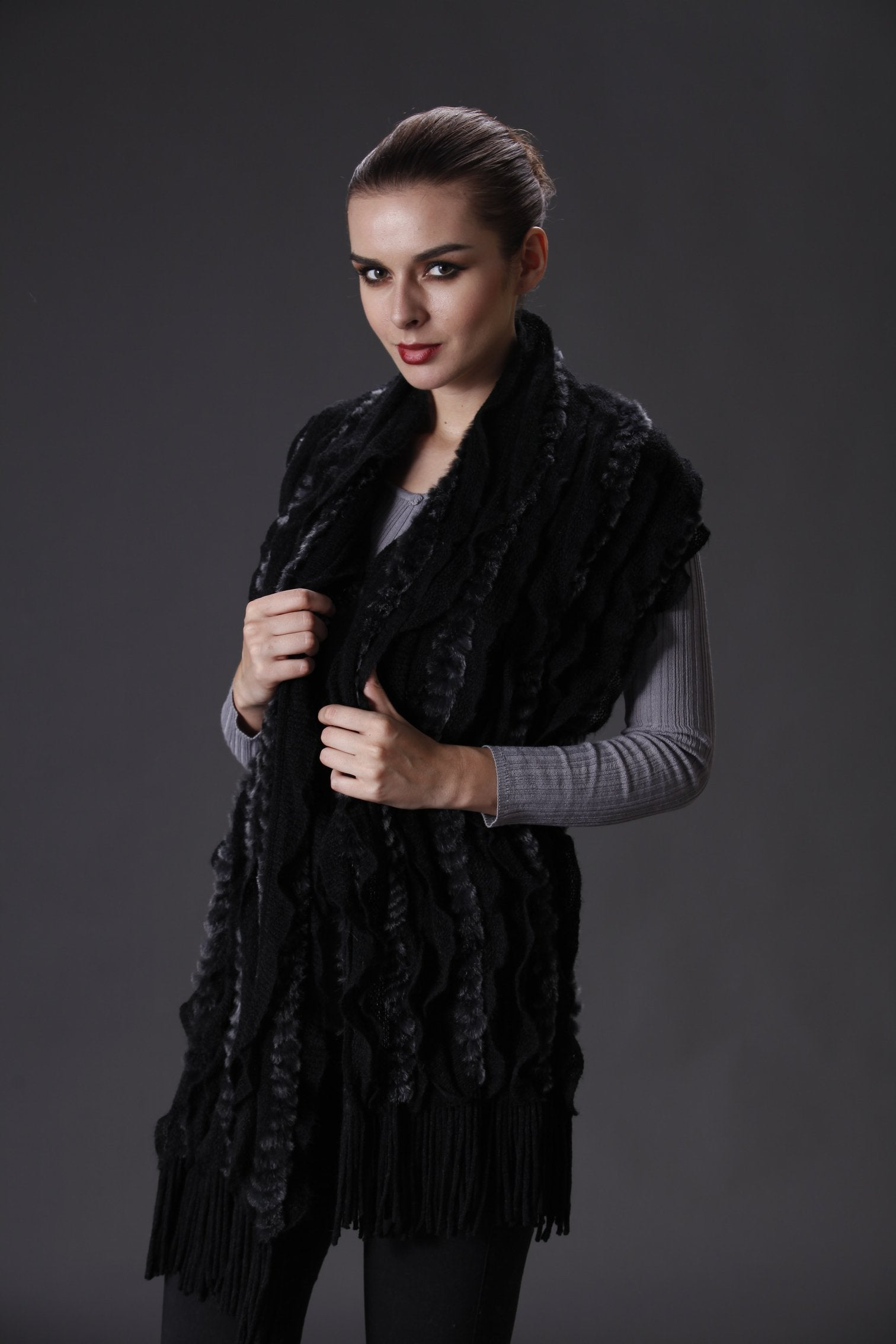 THE INNES Knitted Cashmere Blend Wrap - paulamariecollection