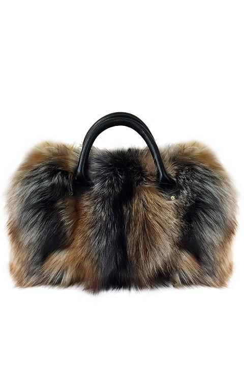 Full Skin Fox Convertible Cross Body Bag - paulamariecollection
