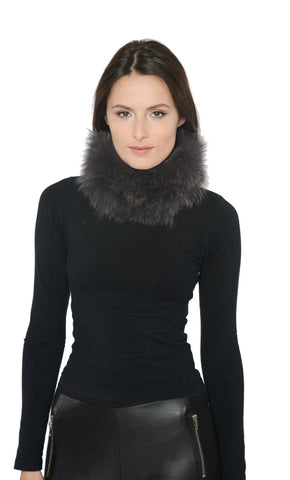 Fox Fur Winter Headband Neck Warmer/ Scarf - paulamariecollection