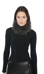 Fur Winter Headband Neck Warmer/ Scarf - paulamariecollection