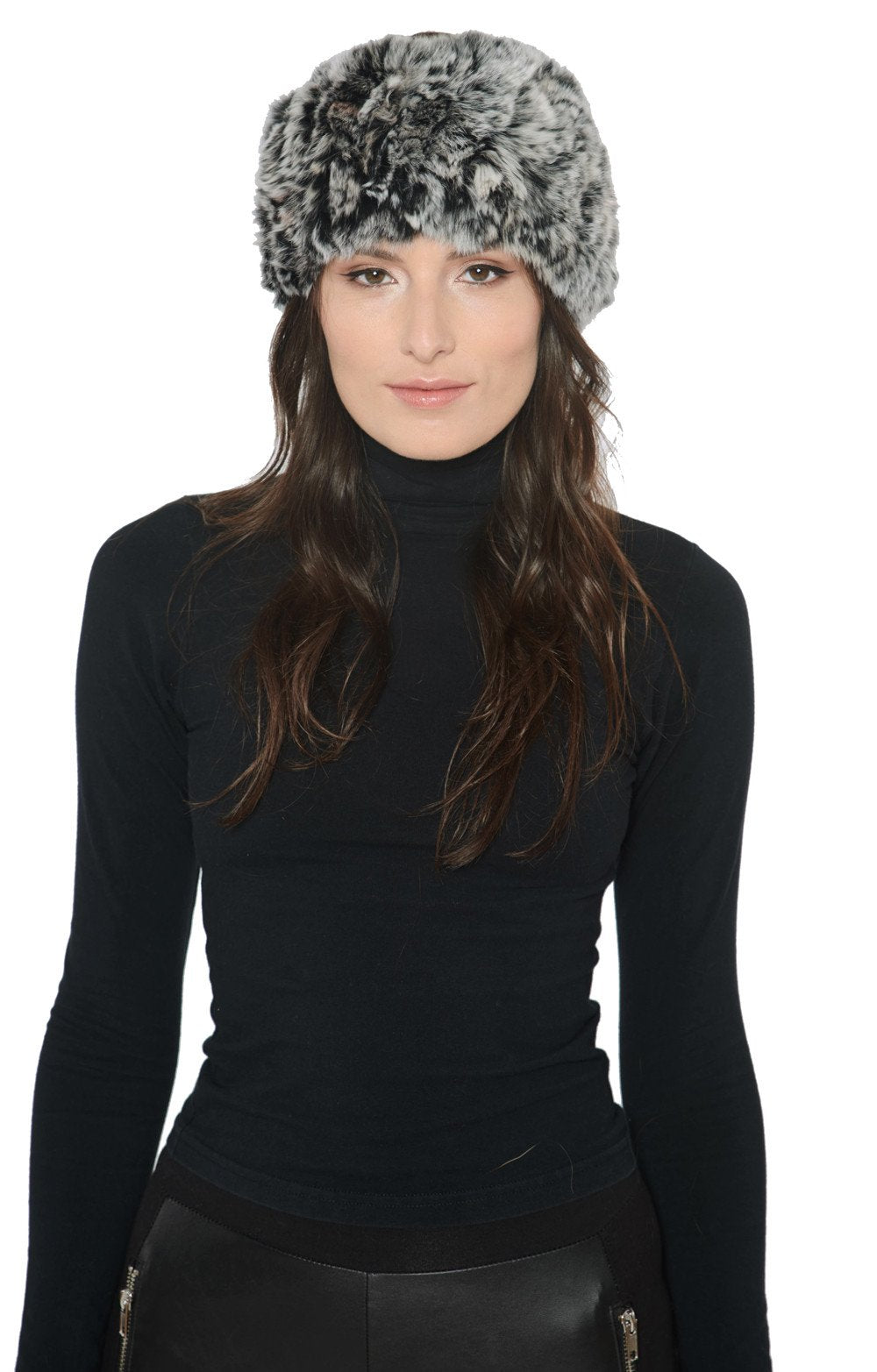 Rex Rabbit Fur Headband - paulamariecollection