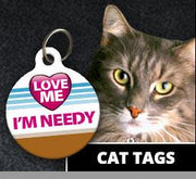 Cat ID Tags - Aw Paws