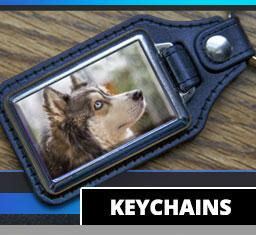 Photo Keychains - Aw Paws